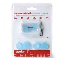 Tapones de oídos silicona moldeable Acofar
