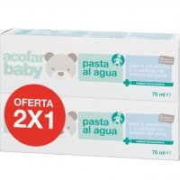 Pack duplo pasta al agua crema irritaciones niños eritema pañal 75ml+75ml Acofar