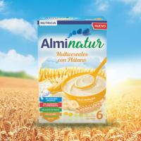 Alminatur multicereales con plátano a partir de 6 meses 250 g