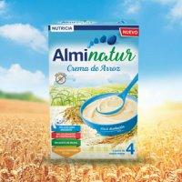 Alminatur crema de arroz a partir de 4 meses 250 g