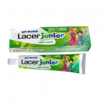 Gel dentífrico Lacer Junior menta 75ml