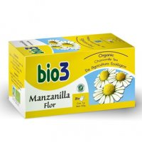 Bie3 manzanilla flor ecológica infusión 25 bolsas