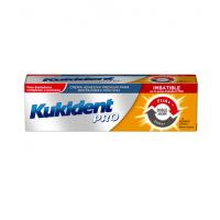 Kukident PRO crema adhesiva para prótesis dentales doble acción sabor neutro 40g