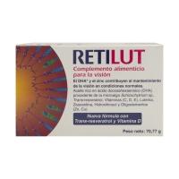 Retilut complemento alimenticio para la visión 60 cápsulas