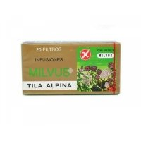 Milvus Tila Alpina 1.2g infusiones 20 filtros