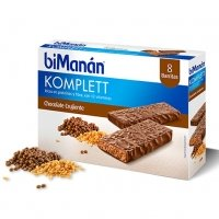 Bimanan Komplett chocolate crujiente 8 barritas
