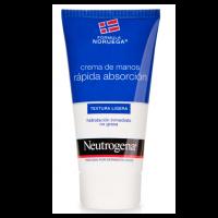 Neutrógena crema de manos rápida absorción 75ml (textura ligera)