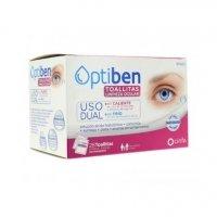 Optiben toallitas limpieza ocular 28 unidades uso frío/calor