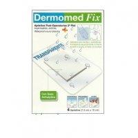 Dermomed Fix apósitos transparentes post-operatorios 2ª piel 4 unidades de 7.5 cm x 10 cm