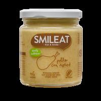 Smileat potito ecológico de pollo con arroz +6 meses 230 g