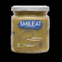 Smileat potito ecológico verduras y merluza +8 meses 230 g
