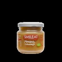 Smileat potito ecológico de manzana y naranja +4 meses 130 g
