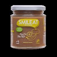 Smileat potito ecológico multifrutas +4 meses 230 g