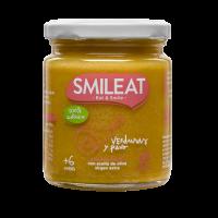 Smileat potito ecológico verduras y pavo +6 meses 230 g