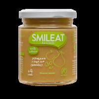 Smileat potito ecológico de manzana, pera y cereales +4 meses 230 g