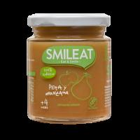 Smileat potito de pera y manzanan +4 meses 230 g