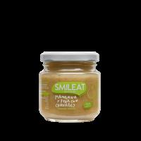 Smileat potito ecológico de manzana, pera y cereales +4 meses 130 g