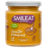 Smileat potito de guisito de alubias +8 meses 230 g