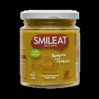 Smileat potito ecológico de ternera y verduras +6 meses 230 g
