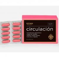 Circulación Goah Clinic 60 cápsulas