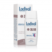 Ladival urban fluid protección solar SPF 50+ 50 ml con color