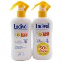 Ladival Pack Spray Solar Niños y pieles Atópicas SPF50+ 200ml + 200 ml 2ªud al 50%