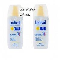 Ladival spray rápida absorción piel sensible SPF 15 150 ml