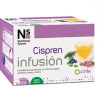 NS Cispren Infusión (Extracto de Arándano Rojo) 20 sobres sabor menta