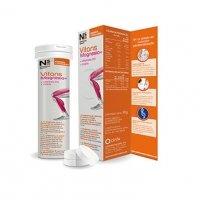Ns Vitans Magnesio + vitamina D3 + Calcio 15 compr. efervescentes sabor naranja
