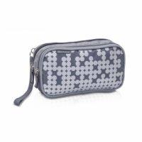 Bolsa isotérmica Elite Bags para transporte de medicamentos termolábiles color gris