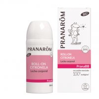 Pranarom Roll-on citronela leche corporal repelente mosquitos 30 ml