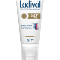 Ladival antimanchas con Delentigo toque seco sin color SPF 50+ 50 ml