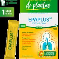 Epaplus immuncare Viravix ayuda a mantener las defensas 15 sticks sabor melocotón