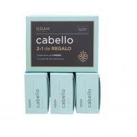 Pack Goah Cabello 3 meses de tratamiento (3 cajas de 60 caps)