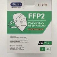 Pack 20 mascarillas FFP2 NR rosa homologación EN149:2001+A1:2009