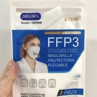 Mascarilla FFP3 NR homologación EN149:2001+A1:2009