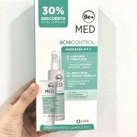 Be+ pack acnicontrol reductor de granos y espinillas (acné por mascarilla) + gel limpiador