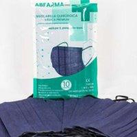 Pack 10 mascarillas quirúrgicas IIR azul marino