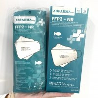 Pack 10 Mascarillas FFP2 tipo pez blanco