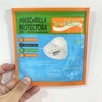 Mascarilla FFP2 NR 5 capas homologación CE EN 149:2001+A1:2009