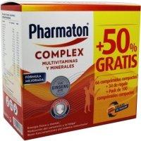 Pack Pharmaton complex Oferta 100 comprimidos